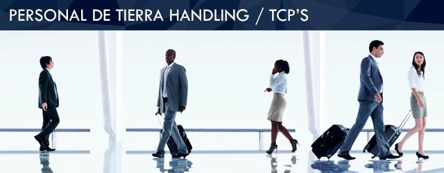 Seguro para personal de tierra handling / TCP